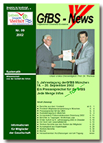 GfBS Newsletter 9