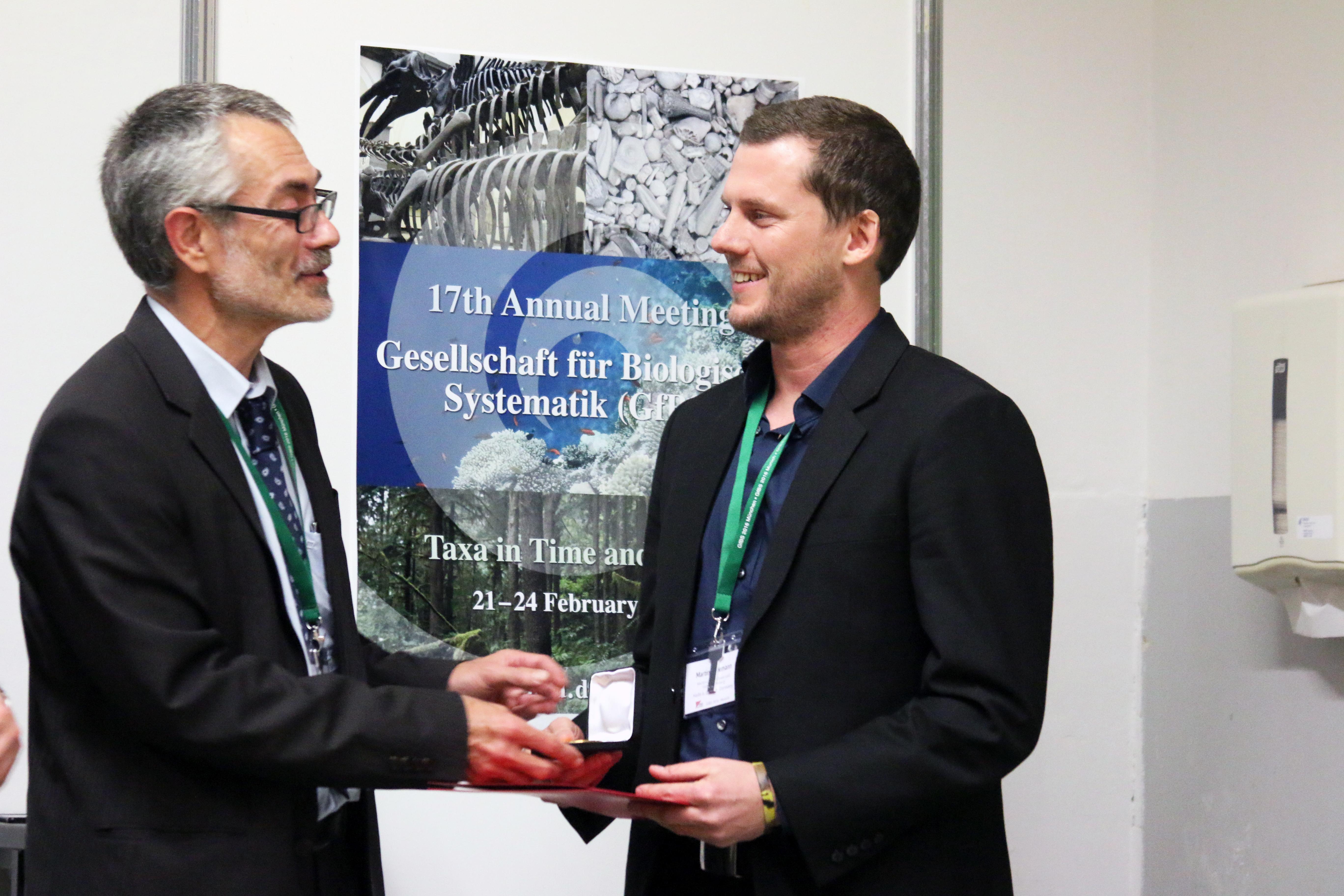 Auszeichnung der dissertation